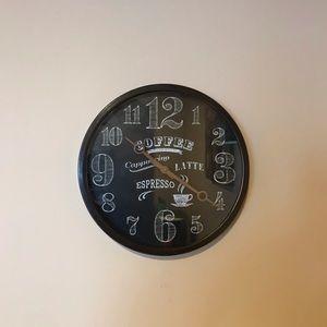 Cute Coffee Clock